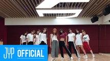 "TWICE(트와이스) ""Dance The Night Away"" Dance Video (NEW JYP Practice Room Ver.)"