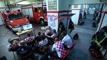Pompiers croates vs Séance de tirs au but Croatie Russie #cm2018