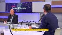"""""""Certains acteurs s'entendent pour résumer ce débat à un référendum 'pour ou contre Macron' ou 'pour ou contre l'Europe.' Benoît Hamon"""