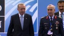 NATO Zirvesi'nde 2. gün - Türkiye Cumhurbaşkanı Erdoğan NATO Karargahı'nda - BRÜKSEL