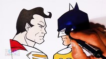 Superman vs Batman Coloring Pages Part 29, Superman Coloring Pages Fun, Coloring Pages Kids Tv