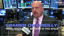 Jim Cramer on AutoZone, O'Reilly and Advanced Auto Parts: There Needs to Be Mergers