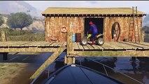 Monster-LKW-und Traktor für Kinder mit Spiderman-Kinderzimmer-Reim für Kinder