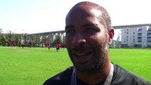 Eric Chelle l'entraîneur du FC Martigues fait le point après une semaine d'entraînement