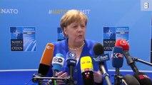 Nato Gipfel Merkel kontert Trump Kritik