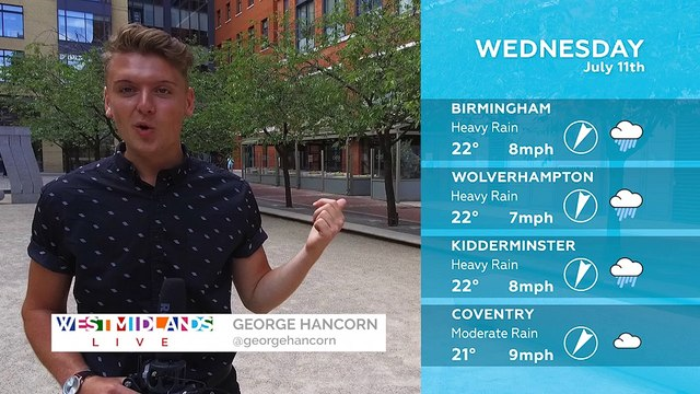 WEATHER: 11th July 2018