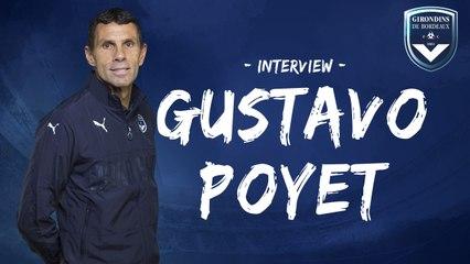 Gustavo Poyet s'exprime depuis le stage à Vichy