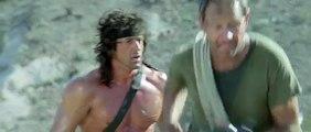 Rambo III Scene Rambo destroys the helicopter