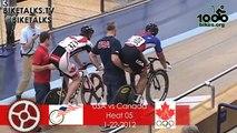 USA Cycling vs Canada Cycling Scott Mulder vs Daniel Sullivan races 1-22-2012