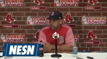 Alex Cora speaks highly about Chris Sale's 12 strikeouts