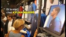Coupe du Monde : l'esprit de 1998 flotte sur les boutiques qui vendent des maillots de foot
