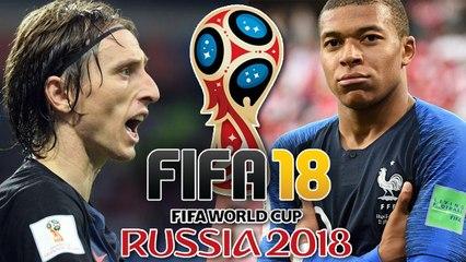 Coupe du Monde 2018 : On commente la finale France-Croatie sur FIFA 18 (CARDIAQUES S'ABSTENIR)