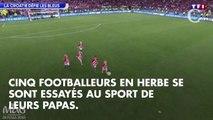 PHOTOS. Trop cute ! Quand les enfants des joueurs croates jouent au foot après la qualification de leurs pères