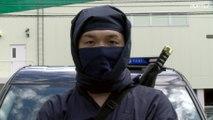 Japanese taxi company hires NINJA drivers