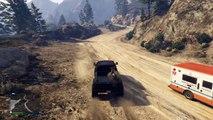 GTA 5   Mini Adventure   Sandking Hauling a Dirt Bike to the Jump Spot