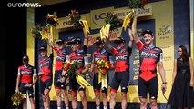 EL BMC se impone en la contrarreloj del Tour
