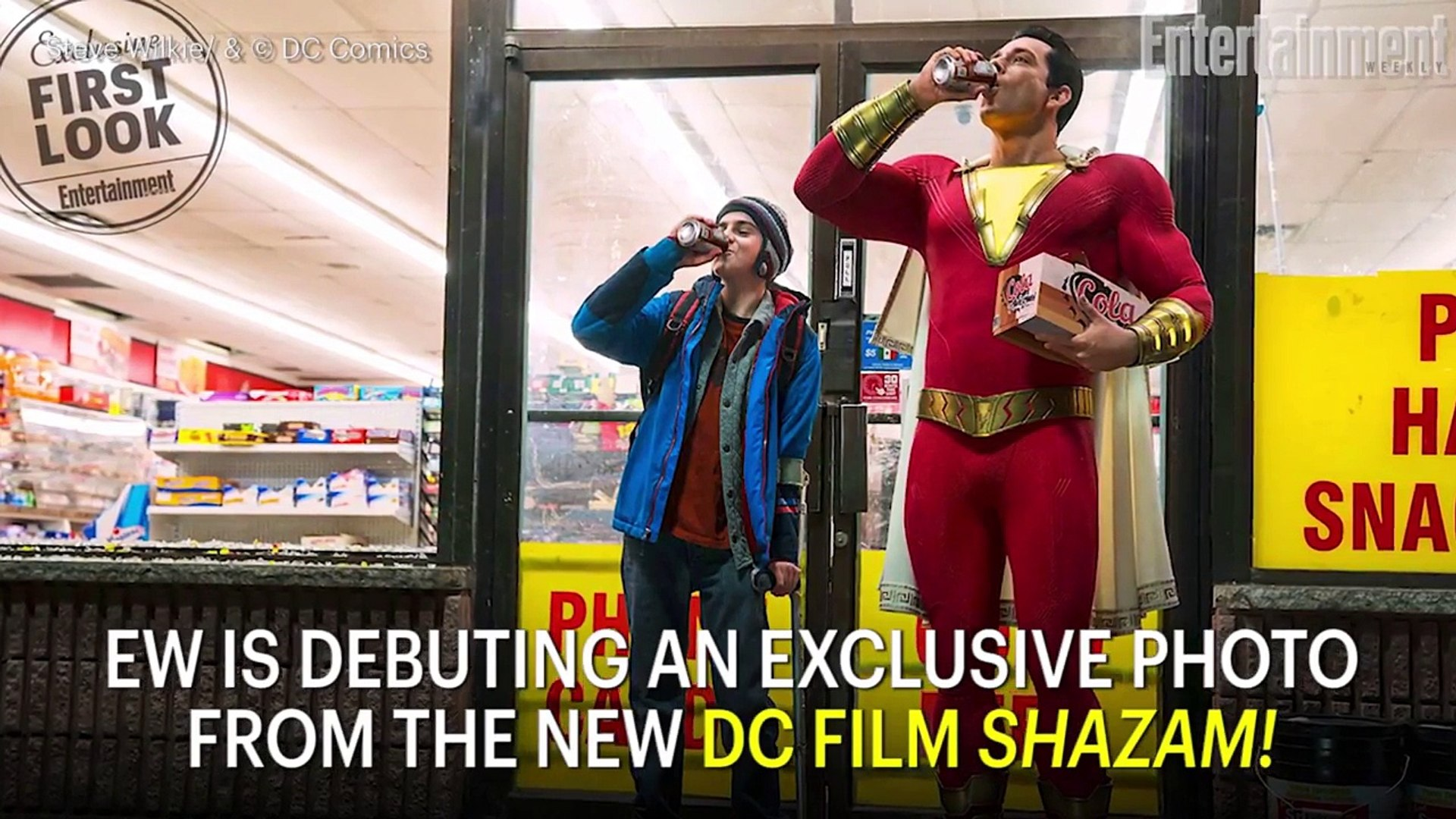 First Look At Zachary Levi In 'Shazam!' | News Flash | Entertainment Weekly