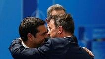 """""""Jetzt Du"""": Xavier Bettel schiebt Alexis Tsipras vor die Kameras (Video)"""
