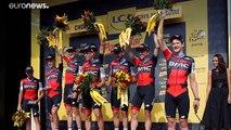 BMC gewinnt Tour-Teamzeitfahren - Radprofi van Avermaet in Gelb
