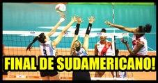 Perú vs Argentina por la final del Sudamericano de voleibol Sub 18 en Valledupar (Colombia)
