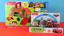 Wheelies Disney Cars Play-Doh Construction Site Play n Go Wheelies Lightning McQueen Mater Cars