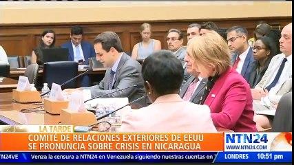 """""""Apoyo firmemente el deseo del pueblo de Nicaragua de vivir libre"""": Ileana Ros Lehtinen"""