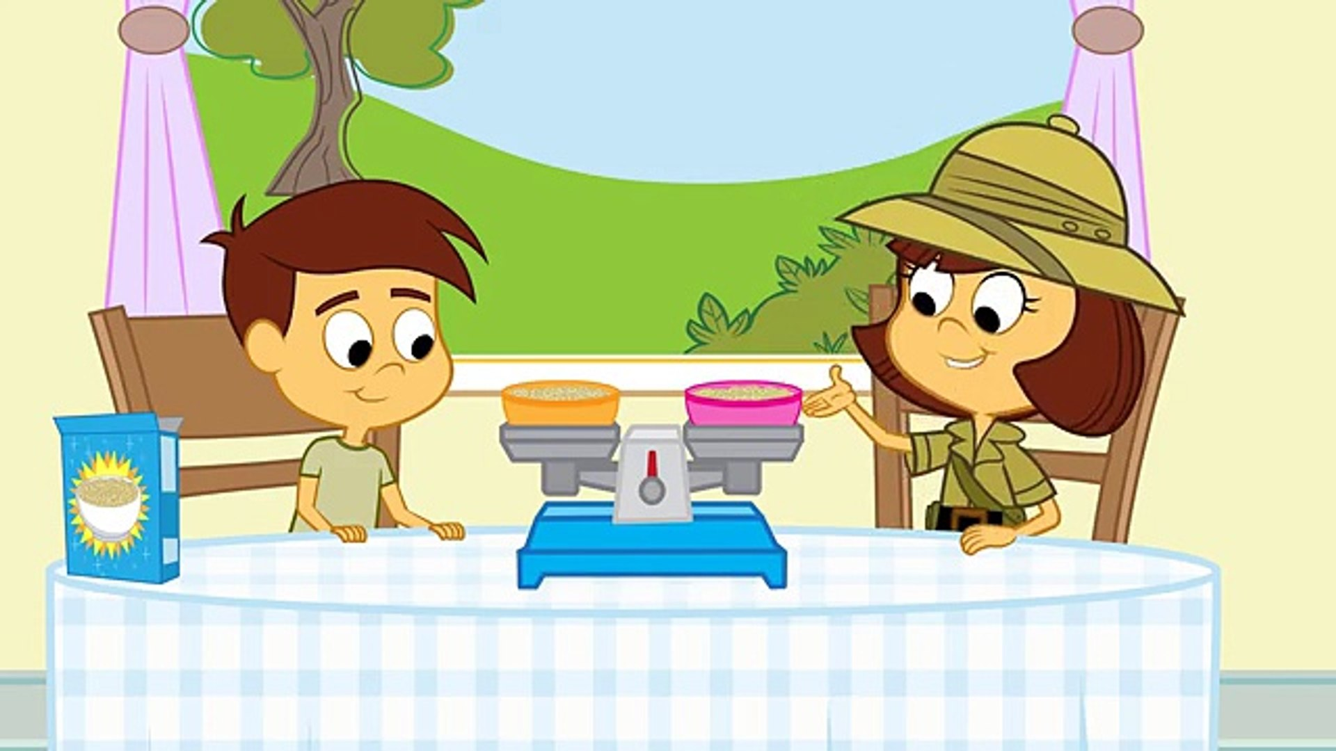 Cartoons for Children. Math - Measurement and Balance. Videos for Kids. Education for kids 1st Grade