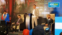 Oscar Dela Hoya on press conference of Manny Pacquiao and Lucas Matthysse fight