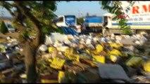 Balıkesir Erdek'te Zincirleme Kaza 2 Yaralı