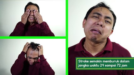 CHECK UP STROKE 3 GEJALA, TANDA STROKE