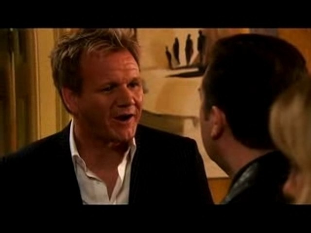 Gordon Ramsey Gives Andy Millman Something to Chew on