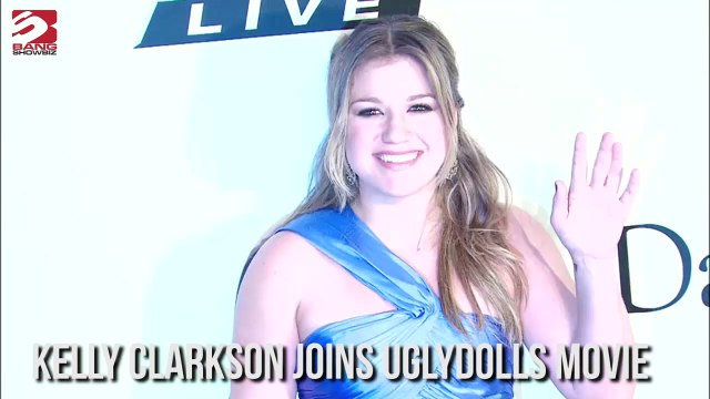 Kelly Clarkson Joins Uglydolls Movie