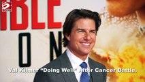"""Val Kilmer """"Doing Well"""" After Cancer Battle"""