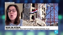 Battle for Deraa: ''Assad thinks this is the end game for this area''
