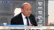 """""""Je pense que le Président Trump est très cohérent"""", affirme Jean-Yves Le Drian"""