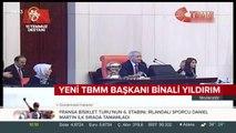 Meclis Başkanı Binali Yıldırım, en yakın rakibine 200 oy fark attı