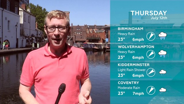 WEATHER: 12th July 2018
