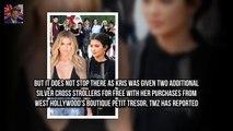 Kris Jenner became a gra Kris Jenner forks out $10000 on presents for Kim Kardashians third child