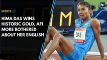 Hima Das wins historic gold, athletics federation more bothered about her English