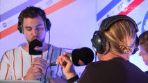 Diplo dans le studio de Fun Radio à l'EMF