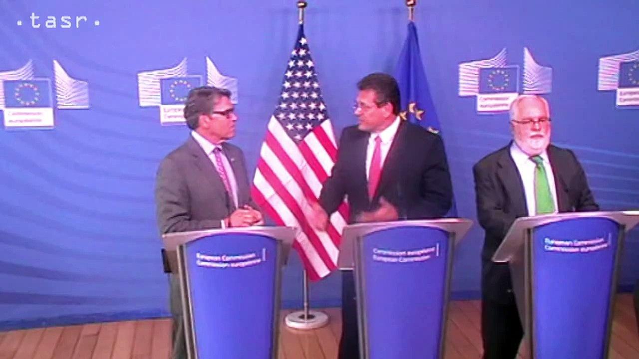 Šefčovič o zasadnutí Rady pre eneregtiku EÚ - USA v Bruseli