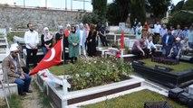 15 Temmuz Şehidi Mustafa Cambaz, Kabri Başında Anıldı