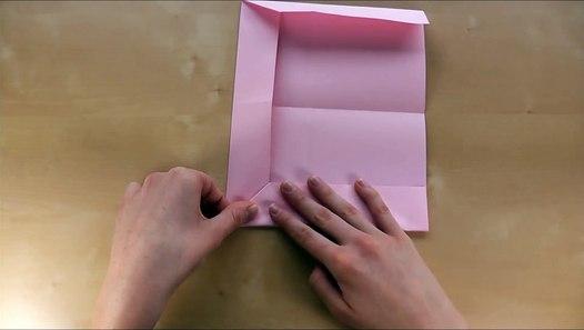 origami brief briefumschlag falten din a4 kuvert selber