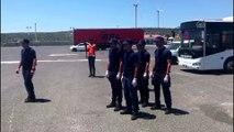 Adada mahsur kalan kaçaklar için kurtarma operasyonu - İZMİR