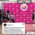 兒子首度在正式比賽中嘗試暴扣,LeBron在場邊比誰都興奮!(#KI) 更多NBA賽事動態   (影片來源: ESPN)
