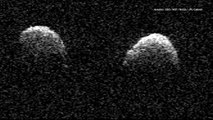 Astronomers Discover Rare Double Asteroid Orbiting Each Other