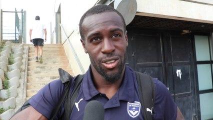 Maxime Poundjé réagit après Bordeaux-GFC Ajaccio