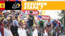 Resumen - Etapa 7 - Tour de France 2018