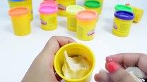T-Rex Dinosaurs Vs Bear Play Doh Surprise Toys | Fun & Creative Play Doh Teddy Bear Toys for kids