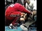 Crazy Dogs (Enson Inoue, Hiro Saito, Michiyoshi Ohara & Tatsutoshi Goto) vs. Makai Club (Kazunari Murakami, Makai #1, Ryushi Yanagisawa & Tadao Yasuda) (w/Kantaro Hoshino) - NJPW Hyper Battle 2003 Day 4